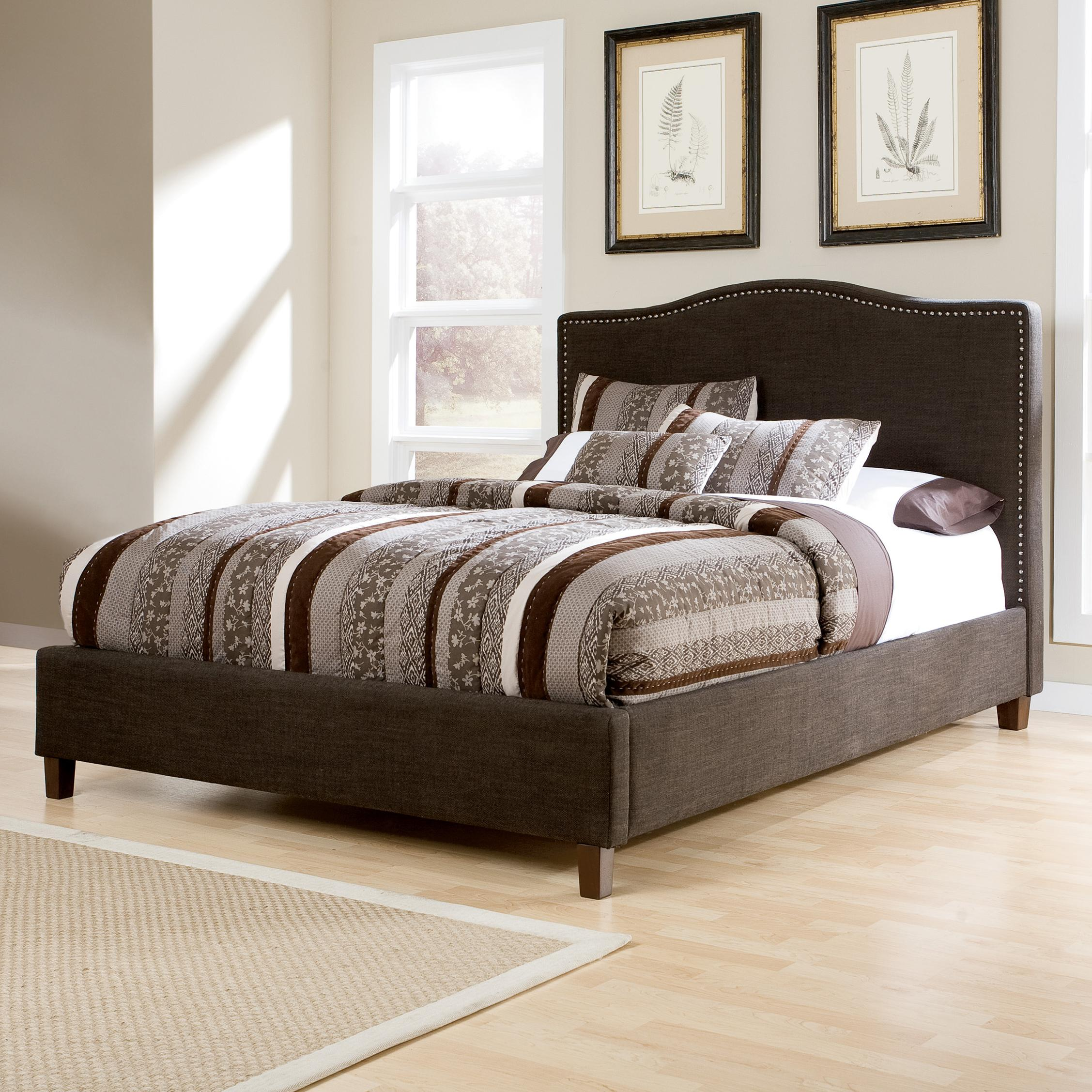 Signature Design by Ashley Kasidon King Upholstered Bed - Item Number: B600-358+356