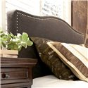 Signature Design by Ashley Kasidon Queen Upholstered Headboard with Brown Woven Fabric