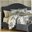 Signature Design by Ashley Kasidon Queen Upholstered Headboard - Item Number: B600-457