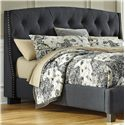 Signature Design by Ashley Kasidon King/California King Upholstered Headboard - Item Number: B600-558