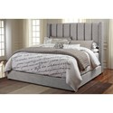 Signature Design by Ashley Kasidon California King Upholstered Bed - Item Number: B600-878+894