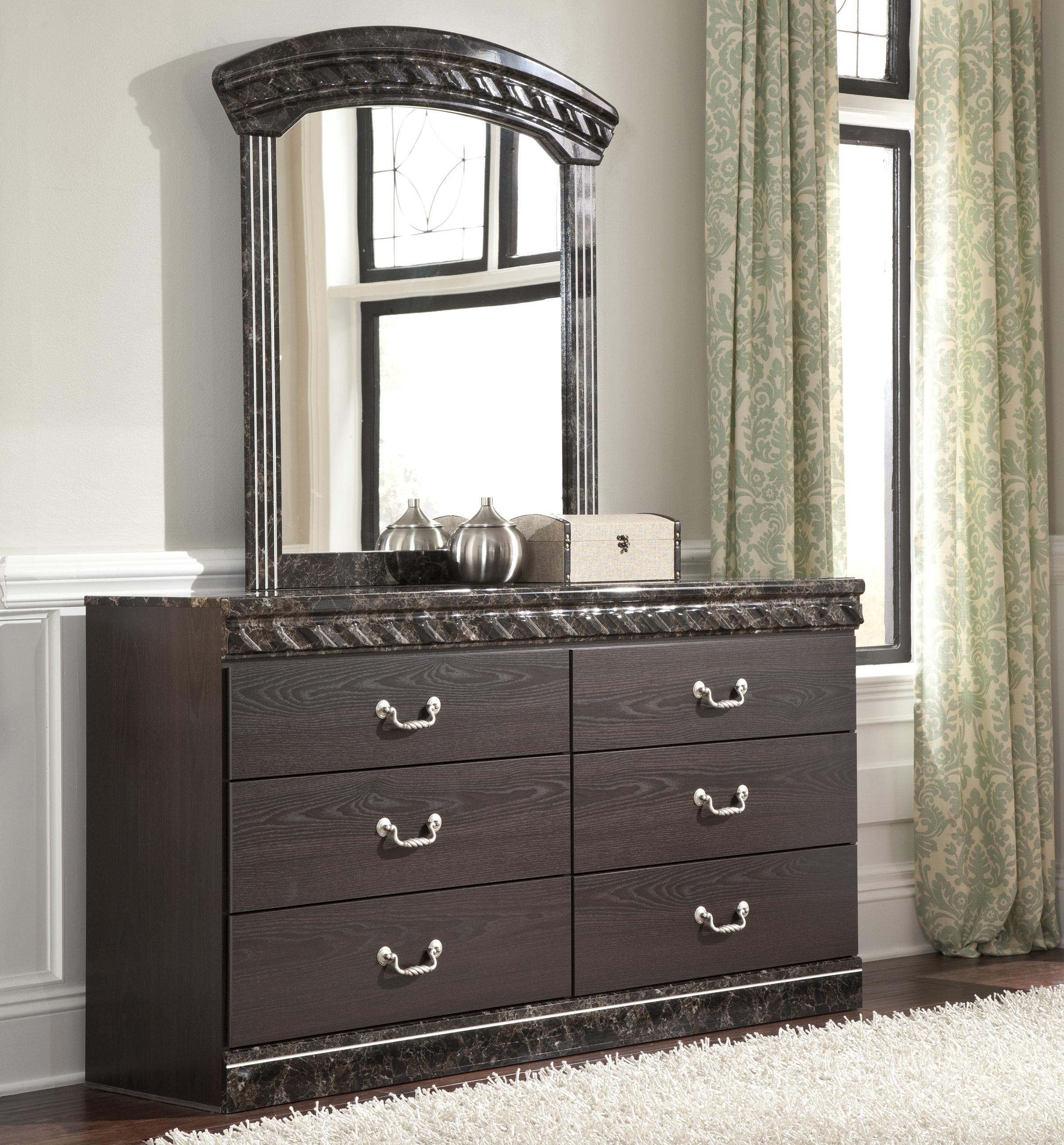 Signature Design By Ashley Vachel Traditional Dresser