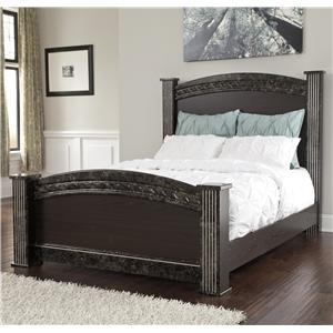 Signature Design by Ashley Vachel Queen Poster Bed