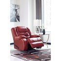 Signature Design by Ashley Vacherie Casual Rocker Recliner with Infinite Reclining Positions