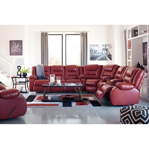 Signature Design by Ashley Vacherie Reclining Living Room Group