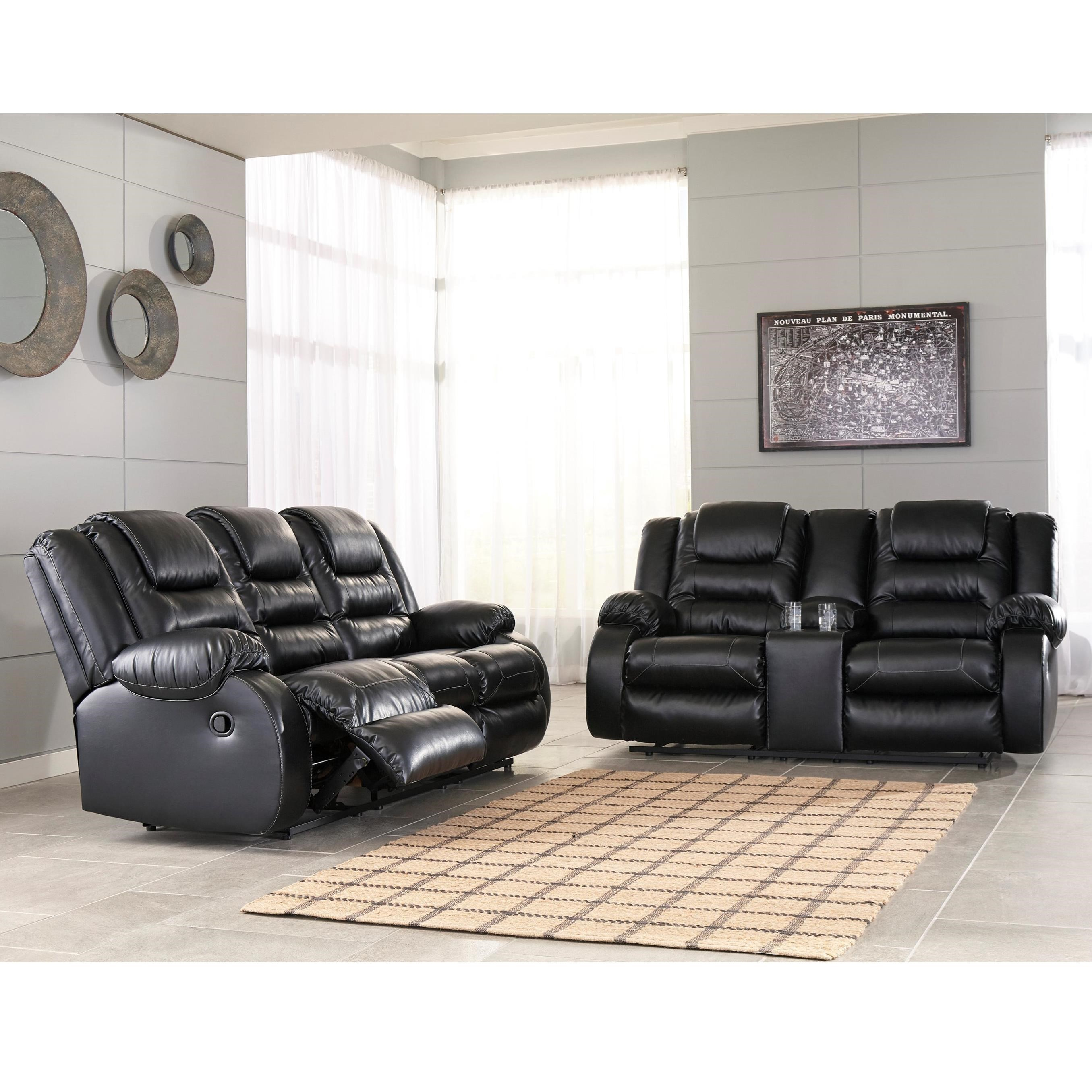 Signature Design by Ashley Vacherie Reclining Living Room Group ...