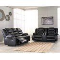 Signature Design by Ashley Vacherie Reclining Living Room Group - Item Number: 79308 Living Room Group 3