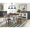 Signature Design by Ashley Valebeck Casual Dining Room Group - Item Number: D546 Dining Room Group 1