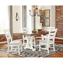 Signature Design by Ashley Valebeck Cottage Style Dining Upholstered Side Chair