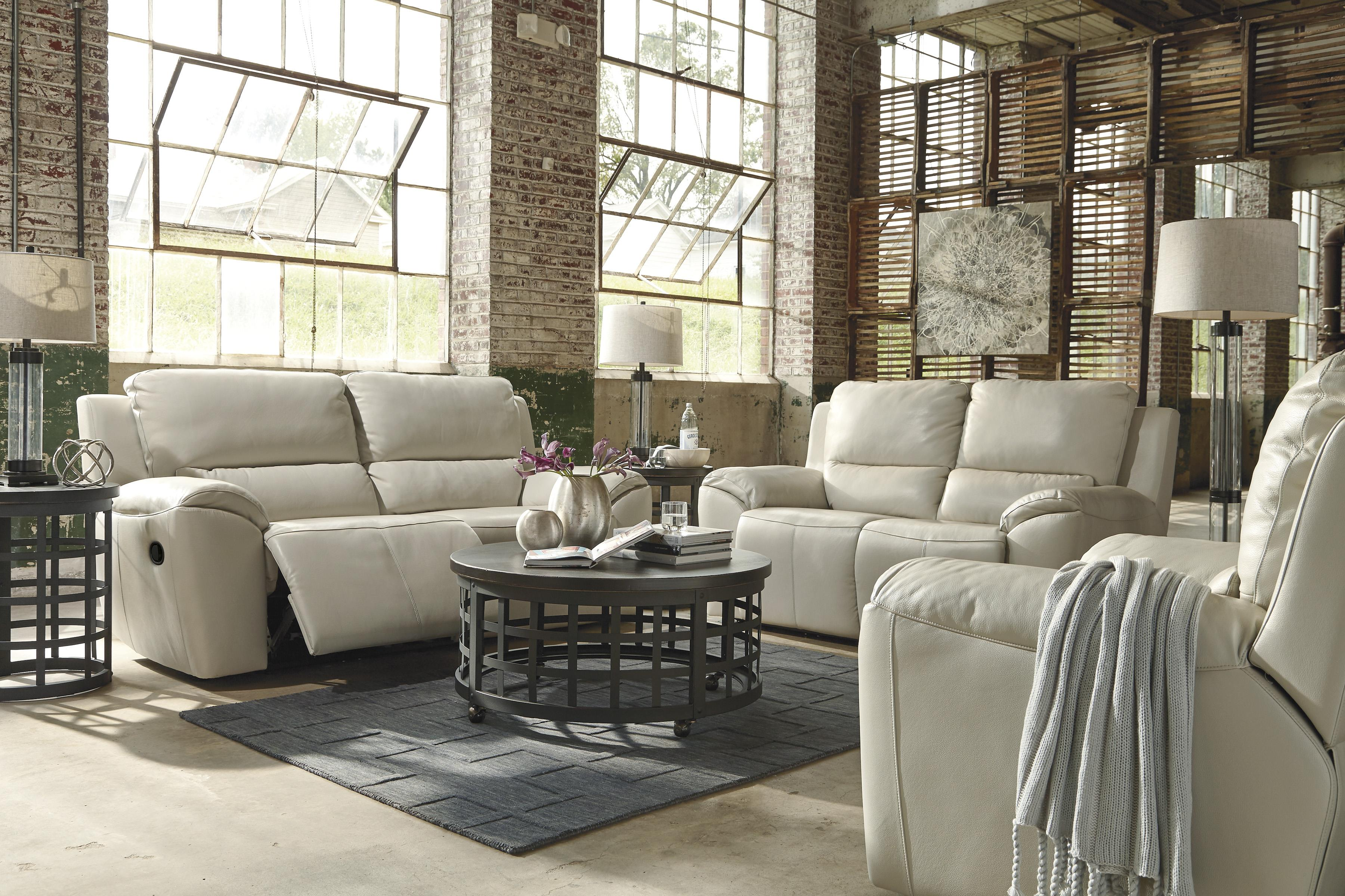 Signature Design by Ashley Valeton Reclining Living Room Group - Item Number: U73500 Living Room Group 3