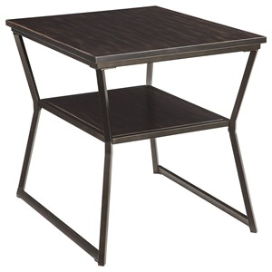 Ashley Signature Design Vallodee Rectangular End Table