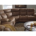 Signature Design by Ashley Valto Reclining Sectional with Storage Console