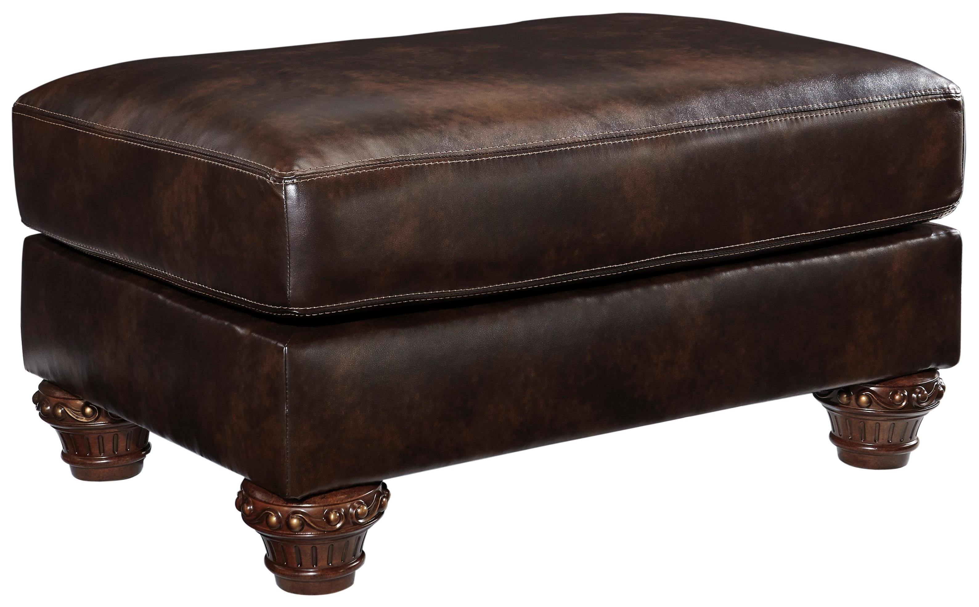 Signature Design by Ashley Vanceton Ottoman - Item Number: 6740214