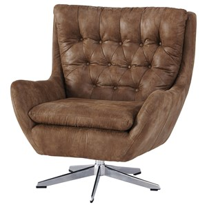 Swivel Base Accent Chair