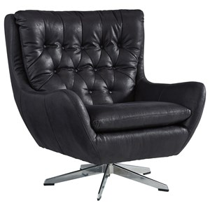 Signature Design by Ashley Velburg Swivel Base Accent Chair