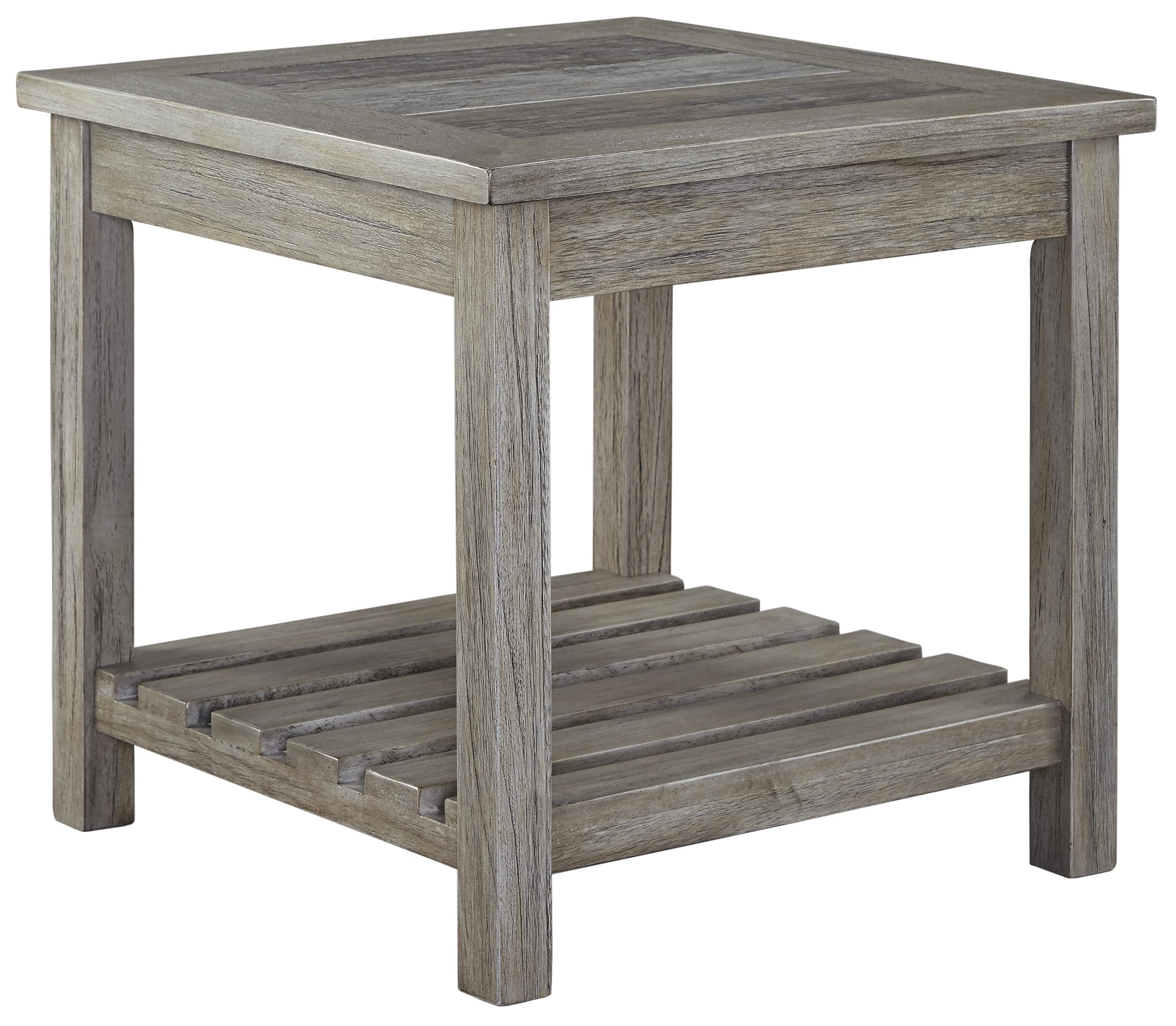 Signature Design by Ashley Veldar Square End Table - Item Number: T748-2