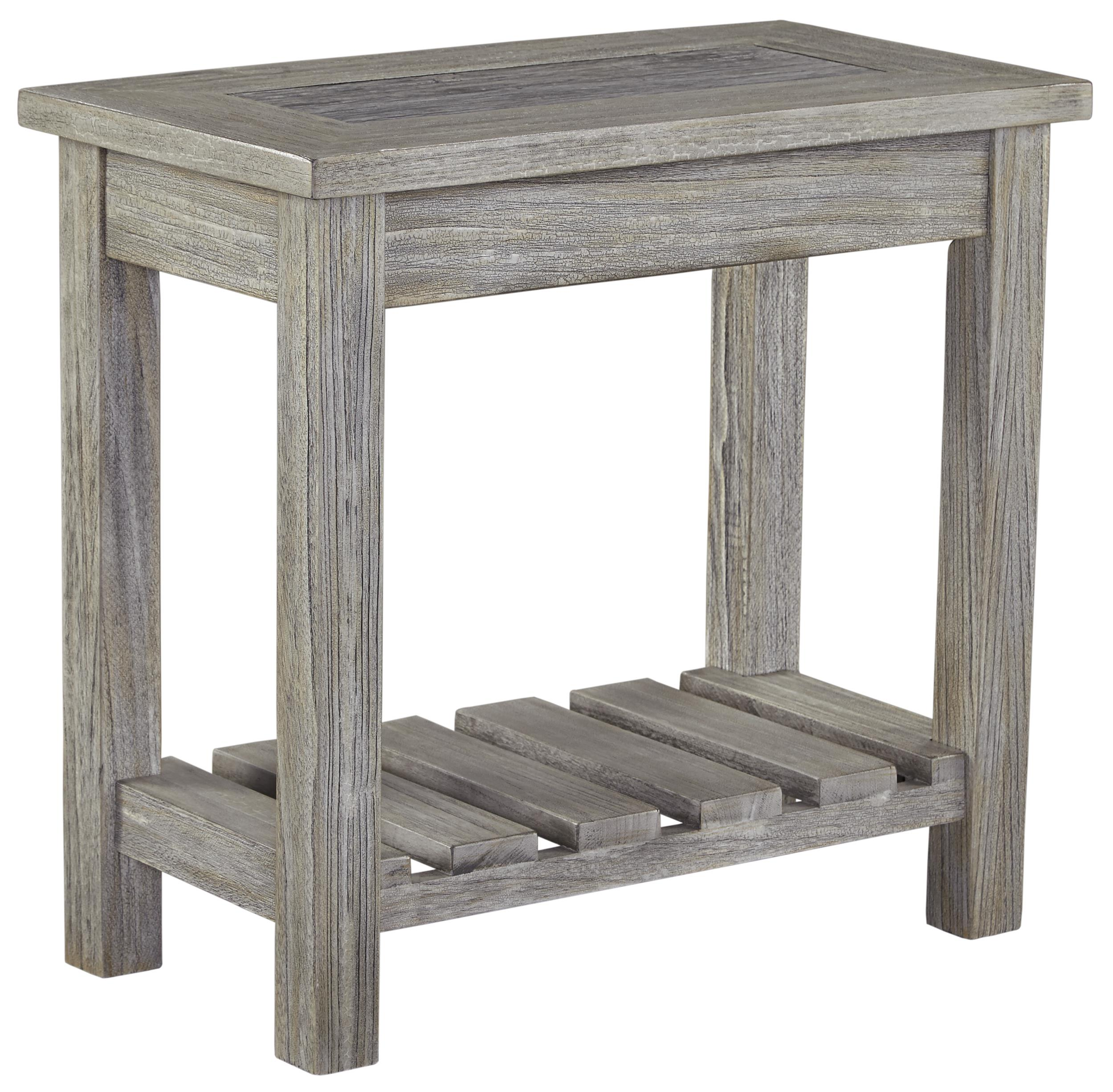 Signature Design by Ashley Veldar Chair Side End Table - Item Number: T748-7