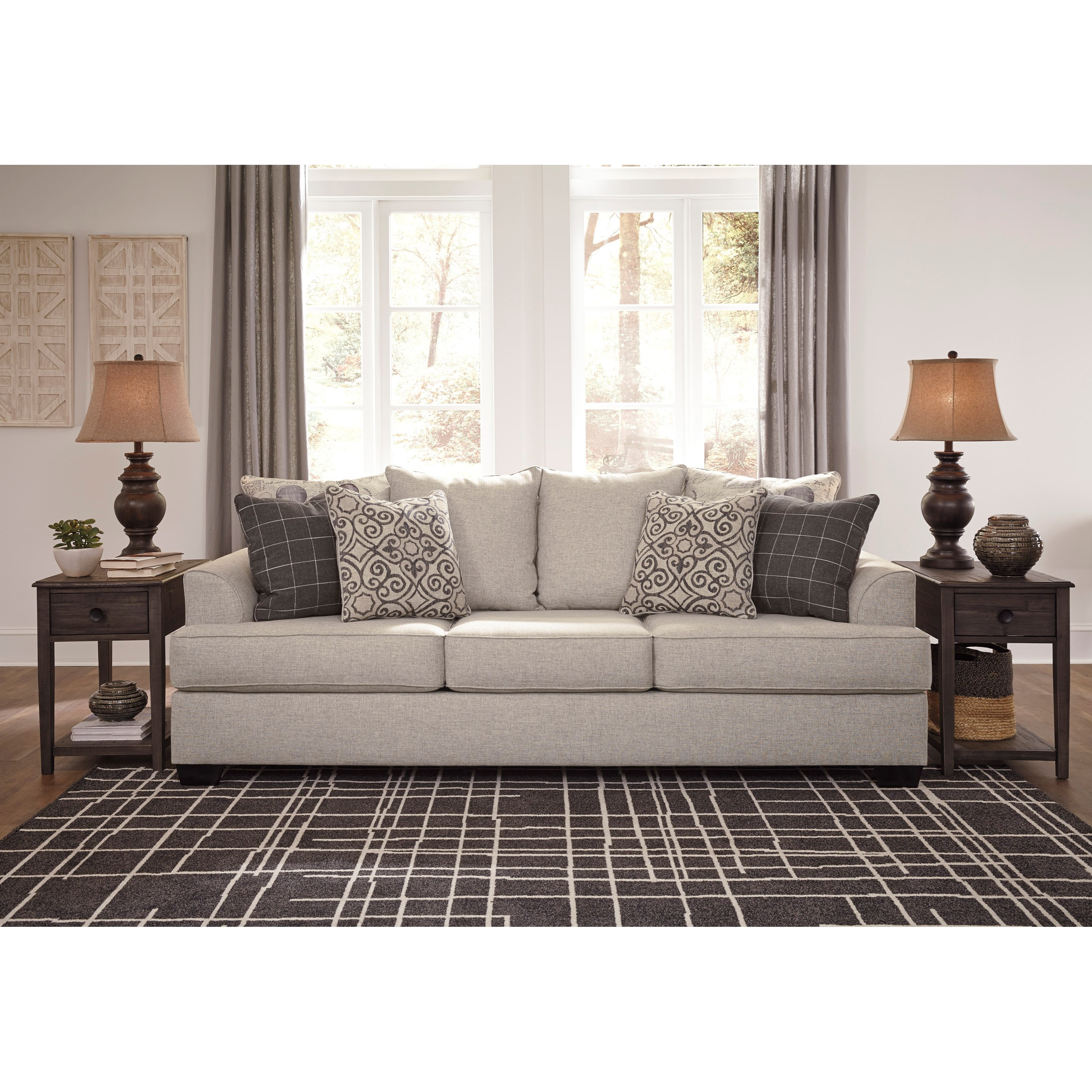 Signature Design By Ashley Velletri Relaxed Vintage Sofa