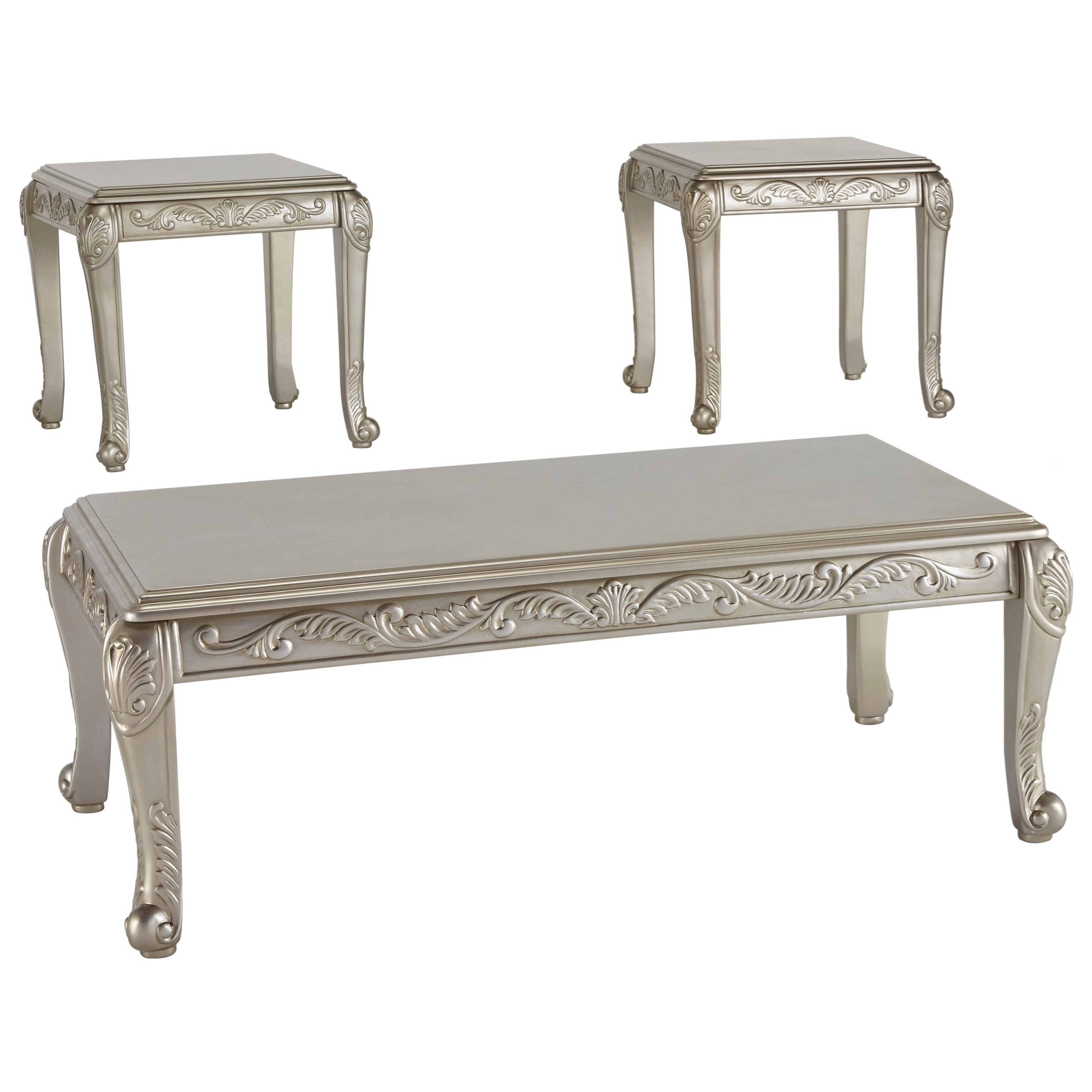 Signature Design by Ashley Verickam Occasional Table Set - Item Number: T340-13