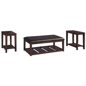 Signature Design by Ashley Furniture Vickerfield Occasional Table Set