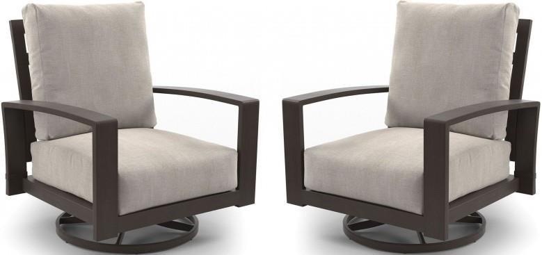 Villa Outdoor Swivel Chairs