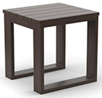 Villa Square End Table