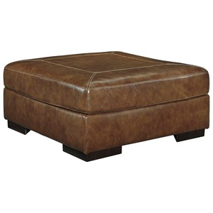 Signature Design by Ashley Vincenzo Oversized Accent Ottoman