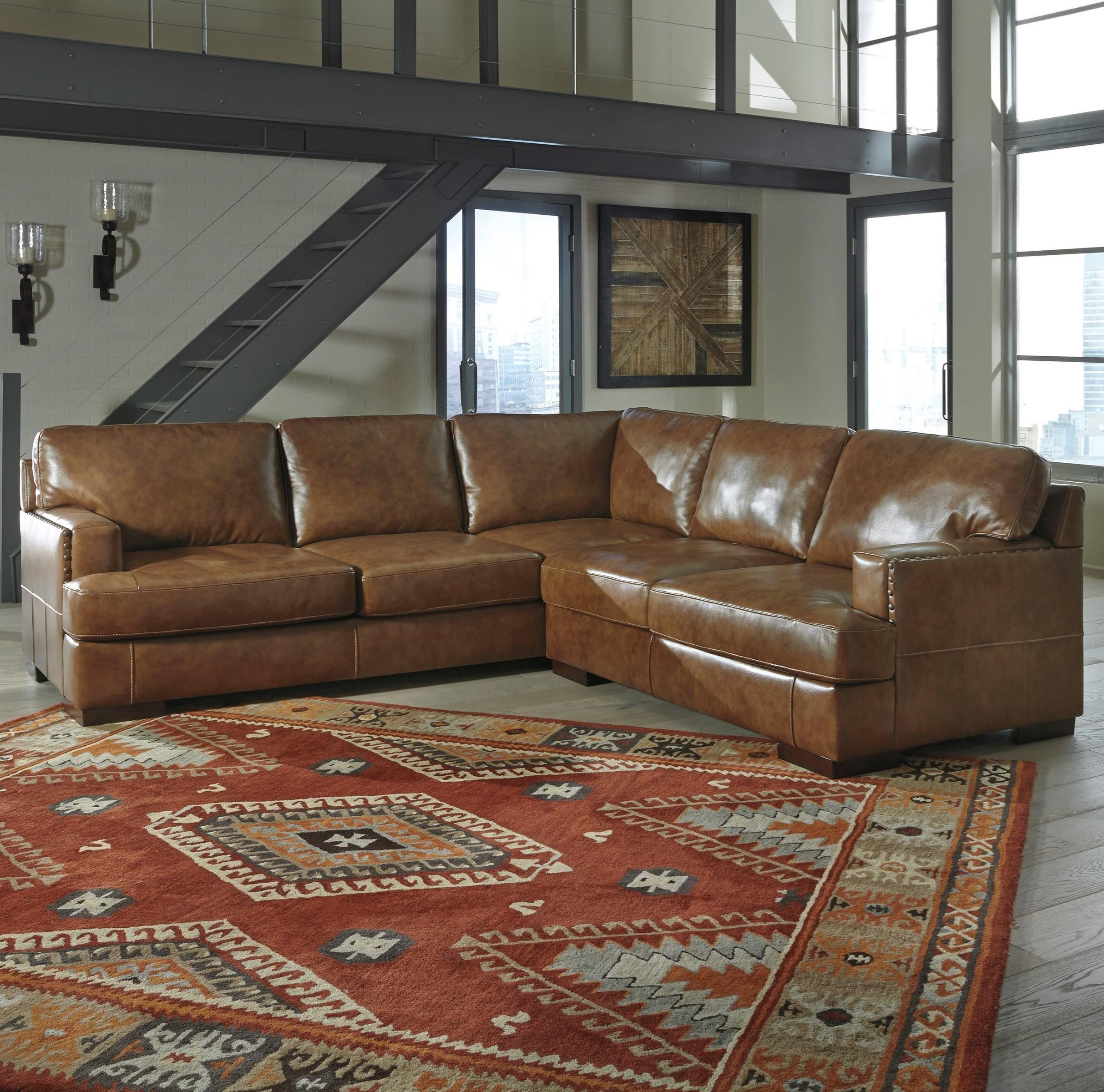 Signature Design by Ashley Vincenzo 2-Piece Sectional - Item Number: 3040166+56