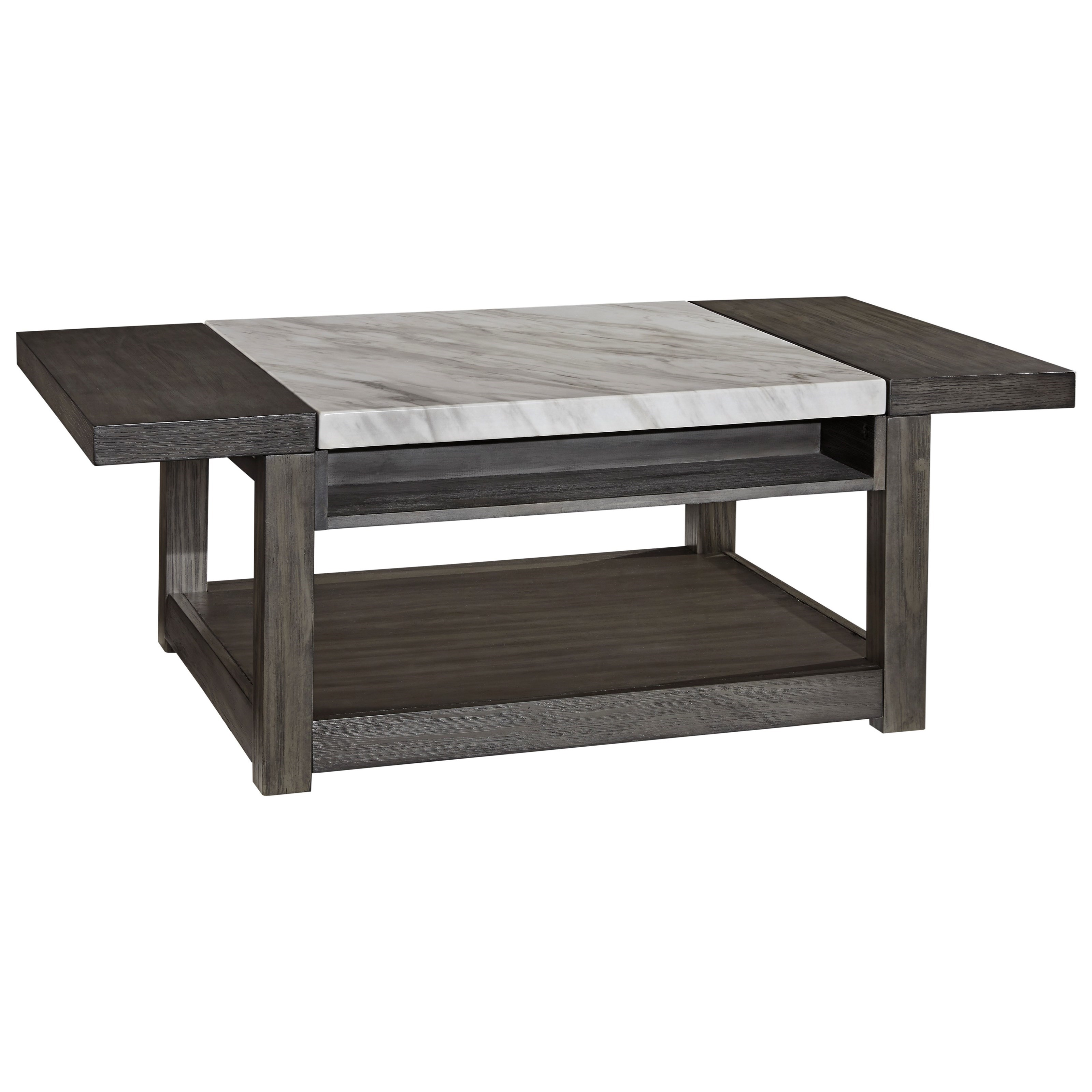 Vineburg Lift Top Cocktail Table by Signature Design by Ashley at Red Knot