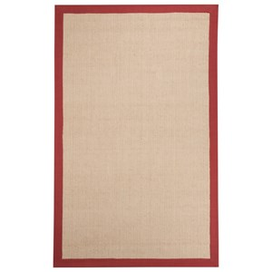 Signature Design by Ashley Casual Area Rugs Ebenezer Red Large Rug