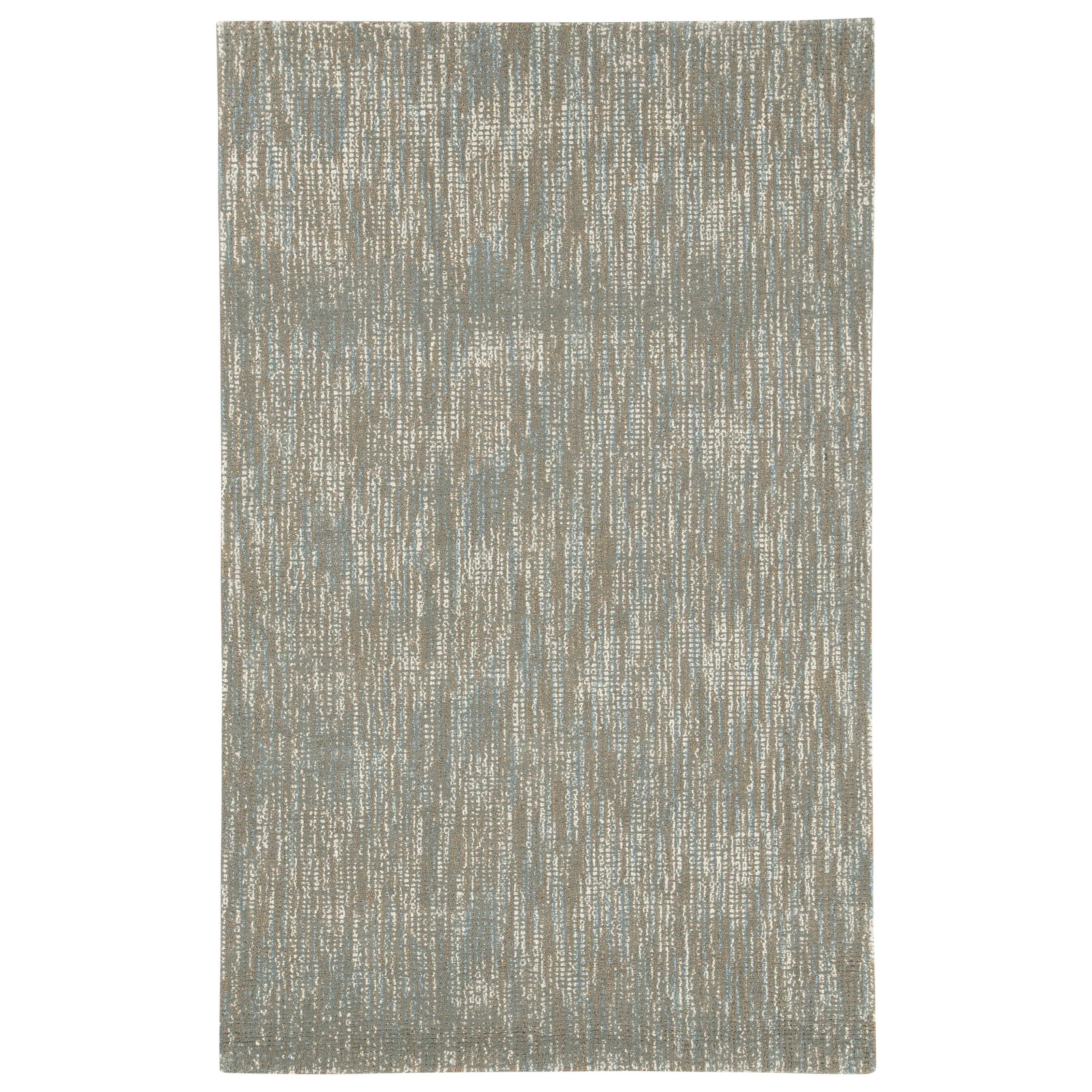 Signature Design By Ashley Casual Area Rugs Arielo Blue Ivory Large Rug Item Number