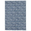 Benchcraft Casual Area Rugs Norris Blue/White Large Rug - Item Number: R400811