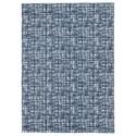 Signature Design by Ashley Casual Area Rugs Norris Blue/White Medium Rug - Item Number: R400812