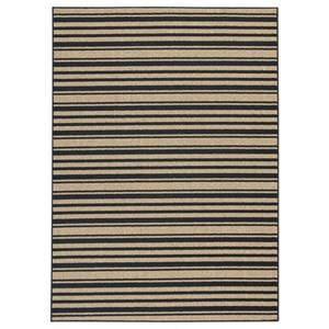 Signature Design by Ashley Casual Area Rugs Joffrey Black/Tan Medium Rug
