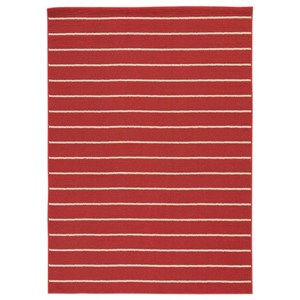 Signature Design by Ashley Casual Area Rugs Kosek Red/Tan Medium Rug
