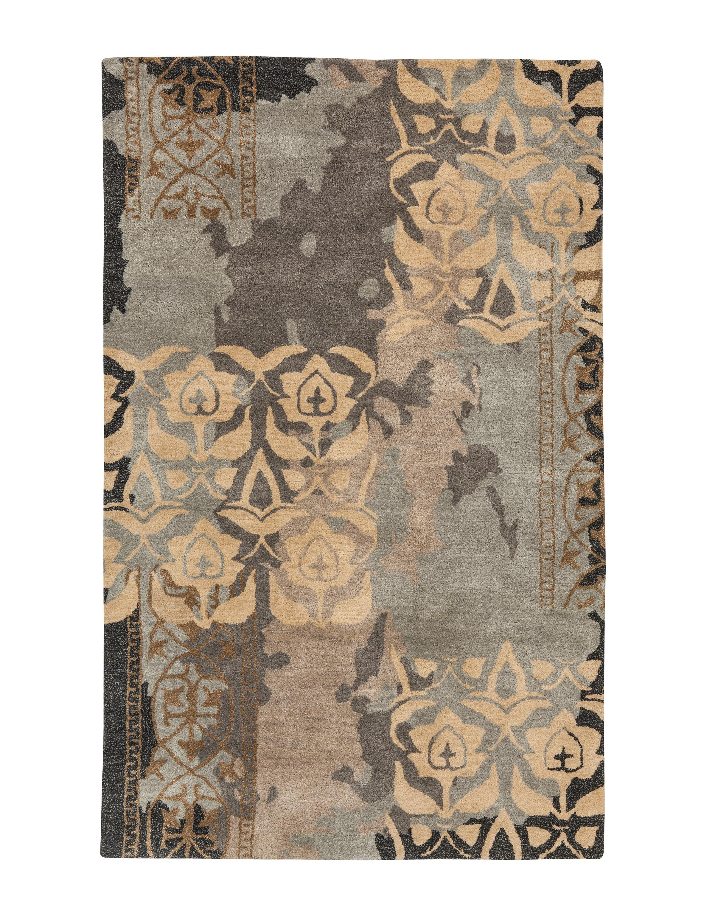 Signature Design by Ashley Casual Area Rugs Woven - Blue/Gray Large Rug - Item Number: R401201