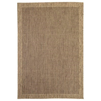 Signature Design by Ashley Casual Area Rugs Tacy Beige/Brown Medium Rug - Item Number: R401452