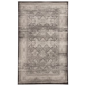 Signature Design by Ashley Casual Area Rugs Daker Black Medium Rug