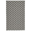 Benchcraft Casual Area Rugs Nathanael Gray/Tan Large Rug - Item Number: R402131