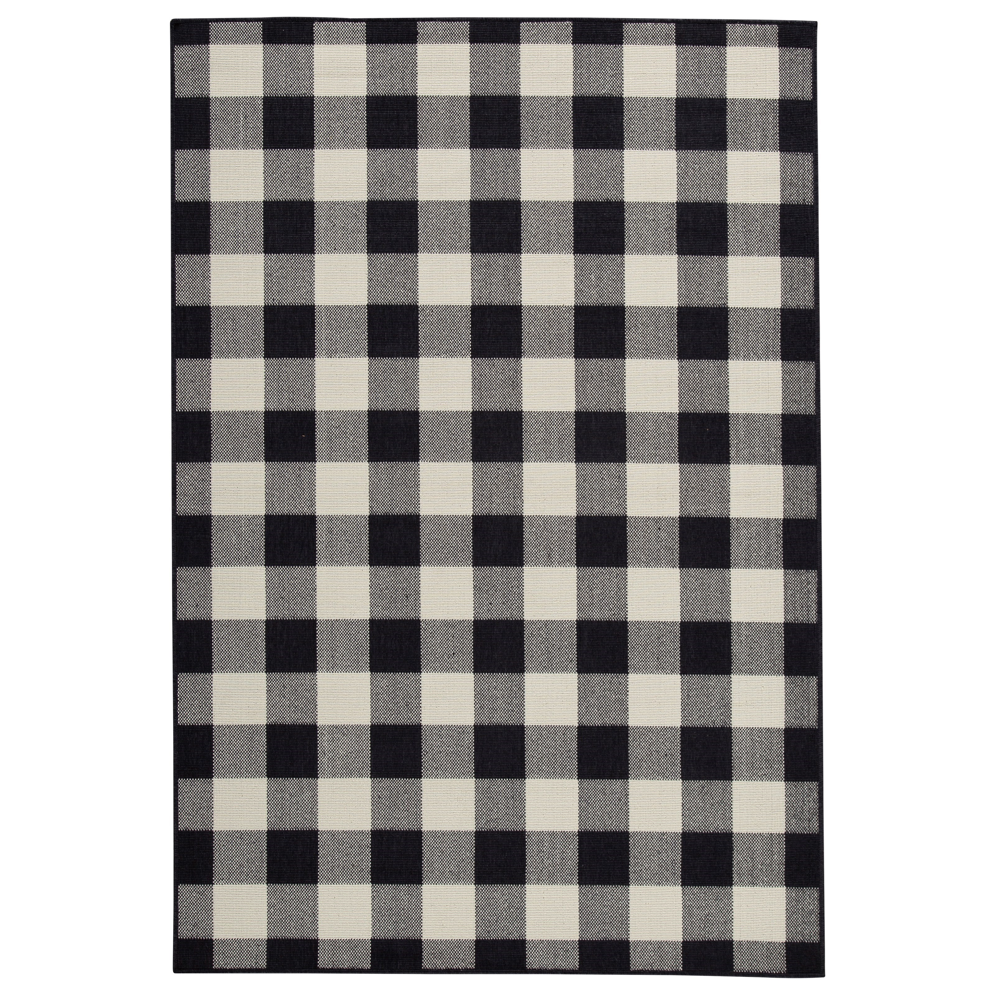 Juji Black/Gray/White Medium Rug
