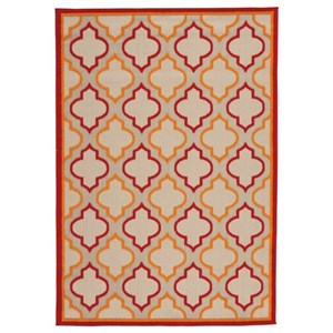 Jebediah Red/Orange Medium Rug