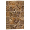 Signature Design by Ashley Casual Area Rugs Stevensville Beige/Brown Medium Rug - Item Number: R402502