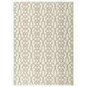 Signature Design by Ashley Casual Area Rugs Coulee Natural Medium Rug - Item Number: R402542