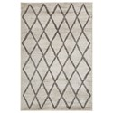 Signature Design by Ashley Casual Area Rugs Jarmo Gray/Taupe Medium Rug - Item Number: R402622