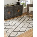 Signature Design by Ashley Casual Area Rugs Jarmo Gray/Taupe Large Rug
