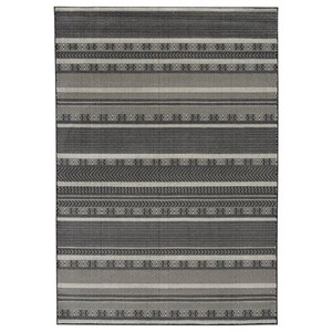 Jeven Black/Cream Large Rug