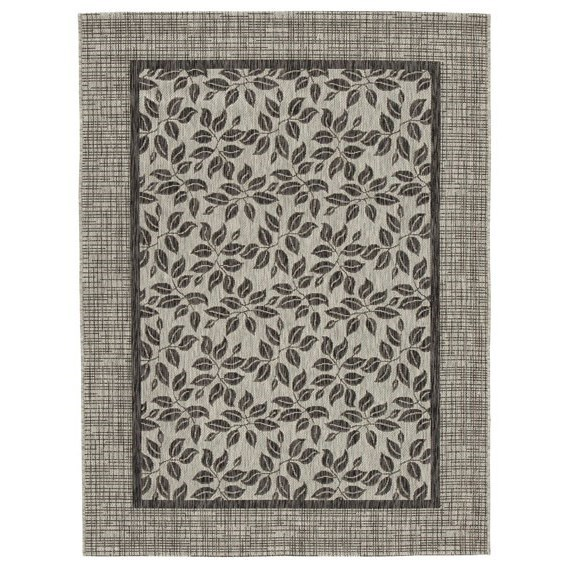 Trendz Casual Area Rugs Jelena Tan/Gray Medium Rug - Item Number: R402862