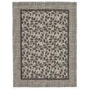 Signature Design by Ashley Casual Area Rugs Jelena Tan/Gray Medium Rug - Item Number: R402862
