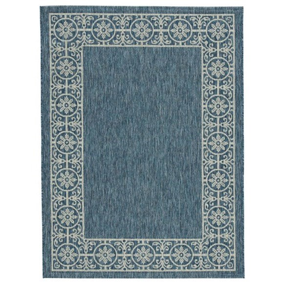 Jeb Blue/Tan Medium Rug