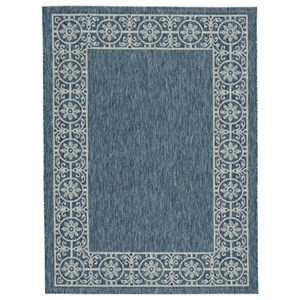 Signature Design by Ashley Casual Area Rugs Jeb Blue/Tan Medium Rug